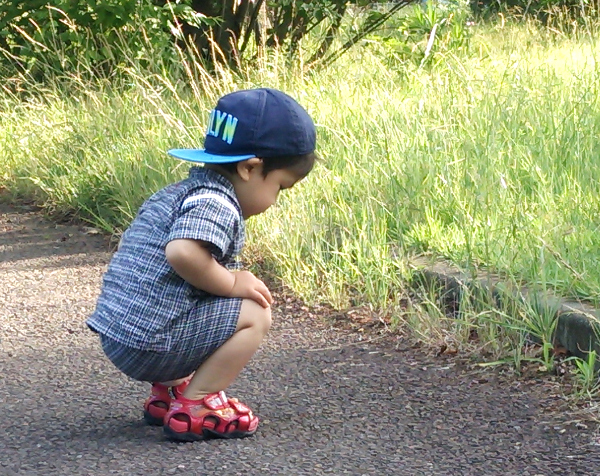 子供用甚平 夏祭り