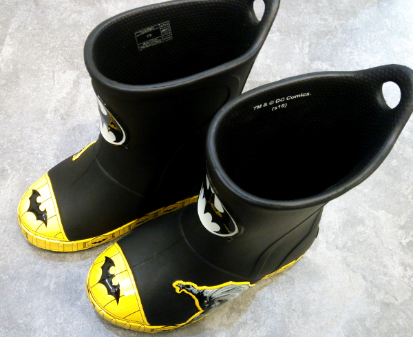 crocs bump it batman boot kids black