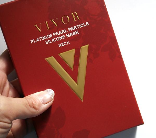 VIVOR(ヴィヴォア)プラチナパール粒子シリコンマスク ネックマスク